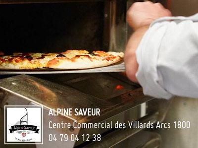 Alpine Saveur, pizzas aux Arcs 1800