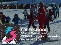 Freeschool, Ecole de ski Arc 1800